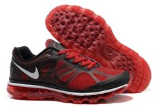 Action Red Black Dark Grey Shoes Nike Air Max 2012 Men's Running Shoes #Womens #Fashion for #summers 2014