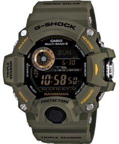 CASIO G-SCHOCK RadioControlled AltiBaro Rubber Strap Μοντέλο: GW-9400-3ER Η τιμή μας: 373€ http://www.oroloi.gr/product_info.php?products_id=39582