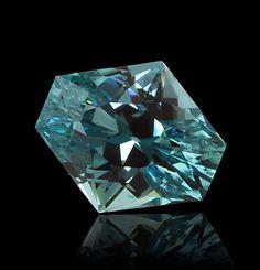 tourmaline enlongated hexagon 13.65 ct by stephen avery gems