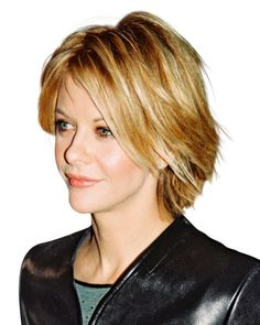 Meg Ryan's defining 1998 shag works on wavy and straight hair. Best of all? It requires minimal styling time.
