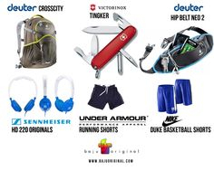 hot products #deuter #senheiser #underarmour #victorinox #nike #bag #notebook