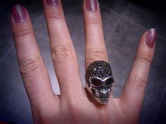 My Thomas Sabo skull ring.