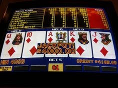 Why I Play Video Poker