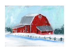 Winter Retreat Art Print - Limited Edition by Lindsay Megahed | Minted