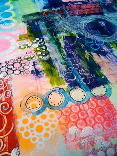 Colorful art jorunaling by Taci Bautista, treiCdesigns on Flickr