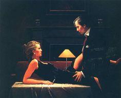 Jack Vettriano - Passion Overflow