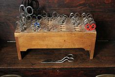 For classroom or scrap book scissors, this would be easy to build. School Items, School Days, Sweet Memories, Childhood Memories, Country School, Old School House, Vintage School, The Old Days, Embroidery Techniques
