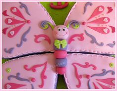 Close-up Sweet Butterfly Cake | Cécile Crabot | Flickr