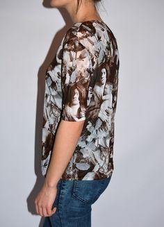 Kup mój przedmiot na #vintedpl http://www.vinted.pl/damska-odziez/koszulki-z-krotkim-rekawem-t-shirty/12033535-koszulka-mgielka-ca-xs-s-m