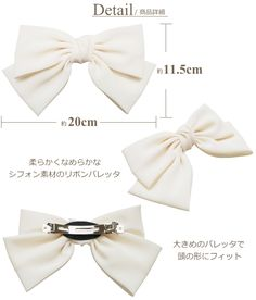 Best 11 I had no idea how to make bows before this. Super clear, step-by-step directions and pictures. Ribbon Hair Clips, Diy Hair Bows, Diy Bow, Diy Ribbon, Ribbon Bows, Women Bow Tie, Toddler Bows, Making Hair Bows, Boutique Hair Bows