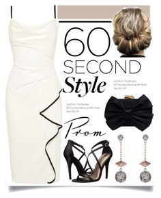"""""""60sec Prom Style.."""" by vkevans ❤ liked on Polyvore featuring Franchi, Nadia Minkoff, Michael Antonio, Prom, swarovski and 60secondstyle"""