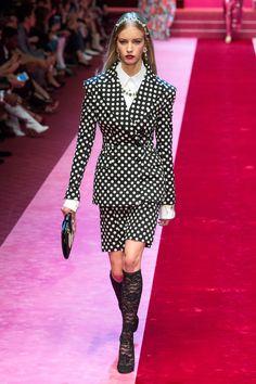 Dolce & Gabbana Spring 2018 Ready-to-Wear Fashion Show - Noa Zijlmans