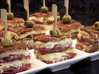 mini Reubens - & lots of appetizer ideas