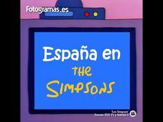 Así ven a España desde Los Simpson
