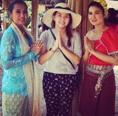 """BKK - Sampras riverside """"Le spectacle culturel du village thaïlandais"""""""