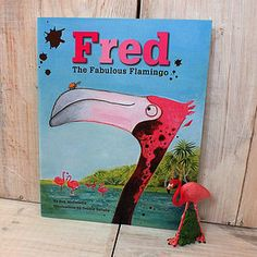 'Fred The Fabulous Flamingo' Book Personalized Books For Kids, Personalized Gifts, Flamingo Illustration, Character Base, Storytelling, Unique Gifts, Tropical, Fun, Classroom Ideas