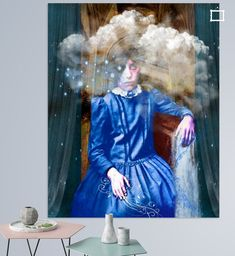 Dream Baby, Digital Collage, Daydream, Dreaming Of You, Disney Princess, Canvas, Disney Characters, Shop, Prints