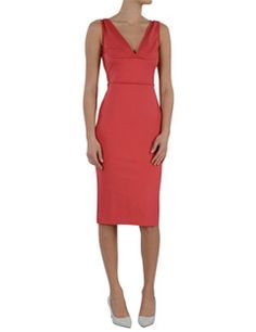 Dsquared2 Cocktail Dress With Relief Seams