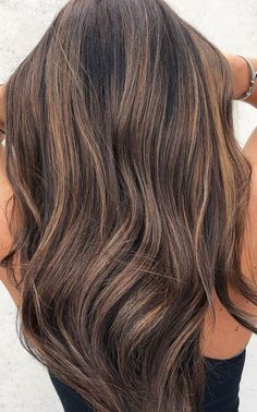 Brown Hair With Lowlights, Brunette Hair Color With Highlights, Brown Hair Color Shades, Highlights For Dark Brown Hair, Dark Brunette Hair, Light Brown Hair, Highlighted Hair For Brunettes, Brunette With Blonde Balayage, Brown Hair For Fall