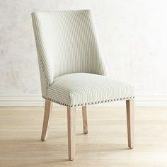 Corinne Seersucker Dining Chair