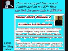 Empower Network Complaints by  Brian Hiriz Rizor  http://www.empowernetwork.com/brianr56/