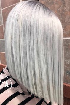 Pretty Shades of Platinum Blonde Hair ★ See more: http://lovehairstyles.com/shades-platinum-blonde-hair/
