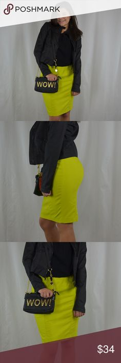 Ann Taylor Women's Size 4 Yellow Green Skirt This women's. size 4, yellow green Ann Taylor skirt is a perfect piece to add some bright color into your office wardrobe. Its versatility allows you to wear this skirt in the office or for a night on the town. SKU in warehouse is # 1247 Ann Taylor Skirts Midi