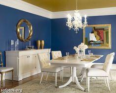 Sala de jantar decorada 9