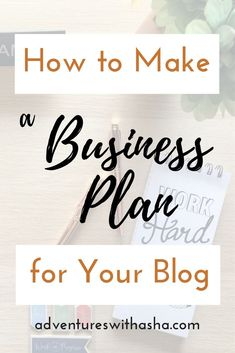 Looking to turn your hobby into a business? You need a business plan! Check out what you need in your blog business plan so that you can make money from your side hustle. // make money blogging // business plan