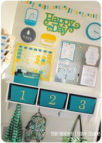 The Homes I Have Made: DIY Pretty File Folders {Command Center Project}