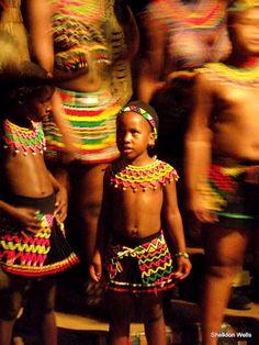 Young Zulu Dancer @ Shakaland, KwaZulu-Natal, South Africa - Fujifilm S1800