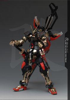 "Custom Build: MG 1/100 Gundam Astray Red Frame Kai ""Ver. Grework Ghost"" - Gundam Kits Collection News and Reviews"