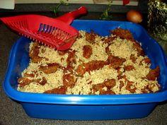 kitty litter casserole - Halloween Casserole Recipe Ideas