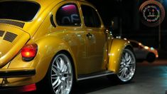 Classic Car News Pics And Videos From Around The World Bugatti, Lamborghini, Carros Vw, Hot Vw, Vw Classic, Beetle Car, Vw Vintage, Yellow Car, Camper Renovation
