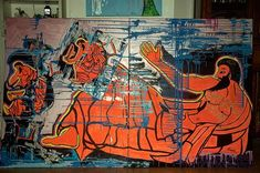 Kottabos (link in bio)  #art #arte #instagram #nature #natura #liguria #Italia #murales #paintings #popart #digitalart #sketch #photo #artist #photography #artoftheday #artistic #artsy #streetart  #painting #animals#instaartist  #creative  #sketching #instadraw #artwork #quadro #picoftheday #wallartmagazine #nyc