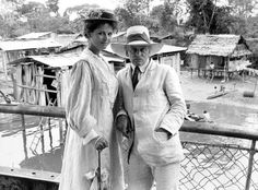 Claudia Cardinale and Klaus Kinski in Fitzcarraldo