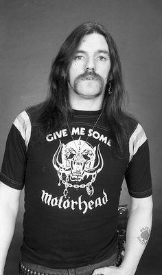 Lemmy Kilmister - Photosession in London UK - 1985