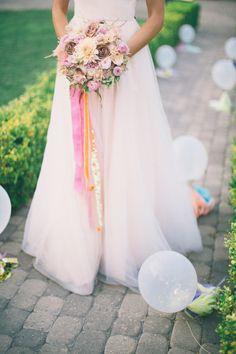 Whimsical wedding inspiration.