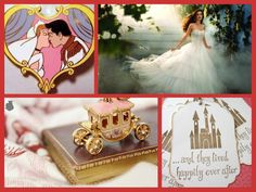 Cinderella wedding theme- I really like the tag...can be put on the favors.