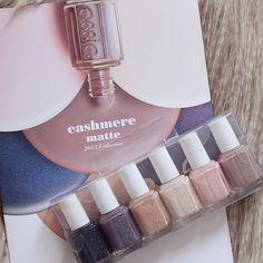 Essie 2015 Cashmere Matte Collection - Swatches