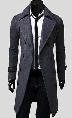 Men's Trench Coat - Coat Jacket - eDealRetail - 4