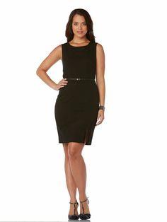 Seasonless Stretch Classic Sheath Dress #holidaycontest rafaellasportswear.com