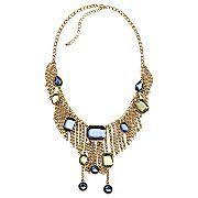Mixit® Goldtone Tassel Chain Necklace