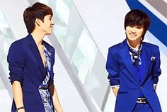 Woohyun & Sungjong Maknae's smile is so adorable *-*