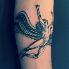 Led Zeppelin - Icarus Tattoo | Left Forearm - By Stevie Layani of Los Angeles California
