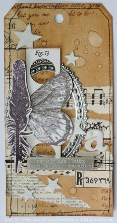 Anina papirčkalnica: Industrious Stickers - Frames