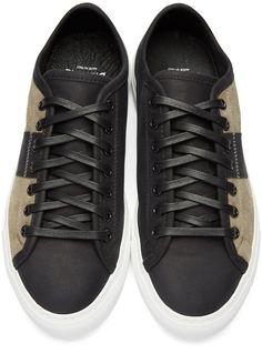Diemme - Black & Beige Veneto Due Sneakers