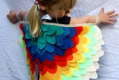 Bird Wings - Rainbow - Large by sparrow & b Twilight Sparkle Costume, Bird Wings Costume, Parrot Wings, Holiday Gift Guide, Holiday Gifts, Diy Wings, Gifts Australia, Wings Design, Buy Gifts Online