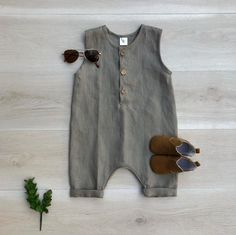 PDF Pattern – Henley Romper – Babies/Toddlers/Kids – Sizes Premie to Baby Clothes Patterns, Kids Patterns, Clothing Patterns, Toddler Sewing Patterns, Coat Patterns, Blouse Patterns, Knitting Patterns, Baby Boy Romper, Baby Cardigan