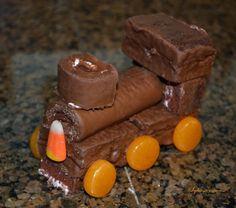 Halloween Ghost Train Cake Tutorial